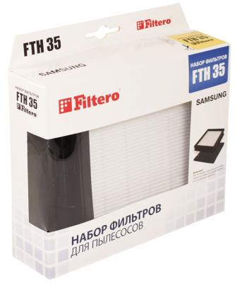 НЕРА-фильтр Filtero FTH 35 SAM hepa фильтр filtero fth 45 lge для lg