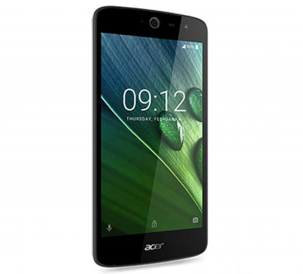 "Смартфон Acer Liquid Zest Z528 черный 5"" 16 Гб LTE Wi-Fi GPS HM.HVCEU.002"