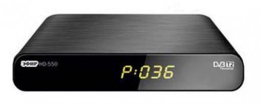 Тюнер цифровой DVB-T2 Сигнал Эфир HD-550RU