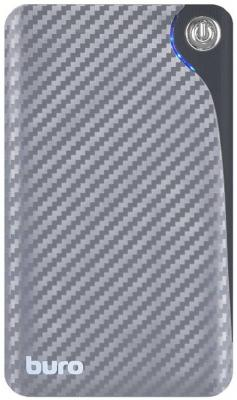 Портативное зарядное устройство Buro RA-11000 11000мАч серый/черный внешние акк��муляторы wb портативное зарядное устройство