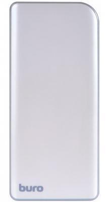 Портативное зарядное устройство Buro RA-8000 8000мАч серебристый/серый