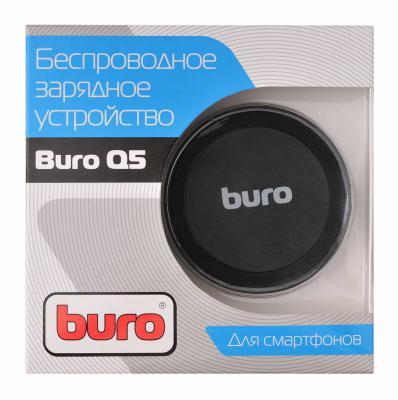 Картинка для Беспроводное зарядное устройство BURO Q5 microUSB 1A черный