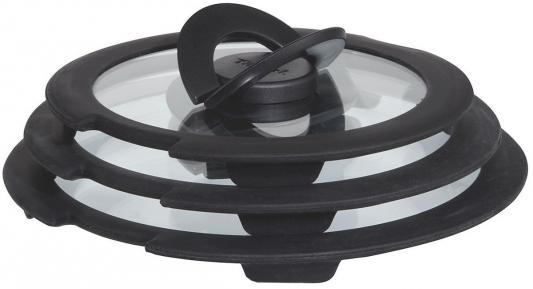 Набор крышек Tefal L9931152 (3 предмета) круглая стекло
