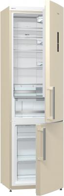 Холодильник Gorenje NRK6201MC-O серебристый бежевый холодильник gorenje nrk6201mc o серебристый бежевый