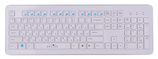 Клавиатура Oklick 540S USB белый