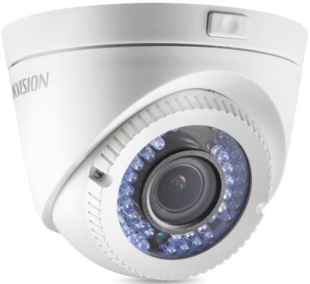 Камера видеонаблюдения Hikvision DS-2CE56C2T-VFIR3 уличная цветная 1/3 CMOS 3.6 мм ИК до 20 м камера видеонаблюдения hikvision ds 2ce56d7t avpit3z 1 2 7 cmos 2 8 12 мм ик до 40 м день ночь
