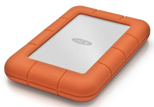 "Внешний жесткий диск 2.5"" USB 3.0 Lacie Rugged Mini 500Gb SSD LAC301556"