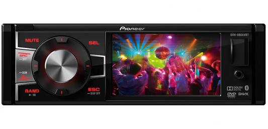 "Автомагнитола Pioneer DVH-880AVBT 3.5"" 320х240 USB MP3 CD DVD FM 1DIN 4x50Вт черный"