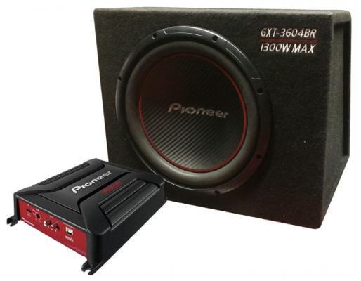 """Сабвуфер Pioneer GXT-3604BR динамик 12"""" 300Вт-1300Вт 4Ом"""