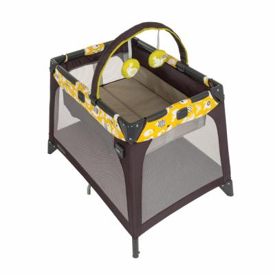 Манеж-кроватка Graco Nimble Nook (spring lime)