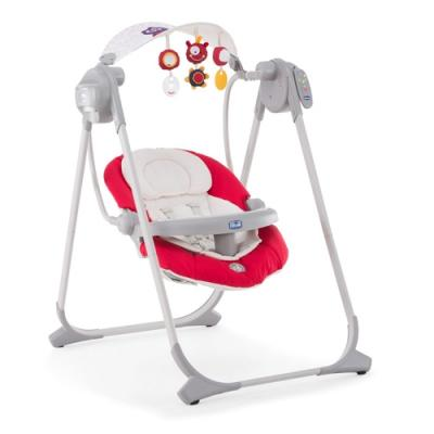 Качели электронные Chicco Polly Swing Up (paprica) chicco seat up 012