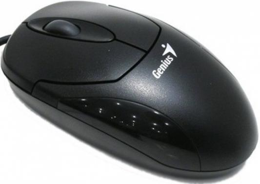 Мышь проводная Genius ХScroll чёрный USB цена и фото