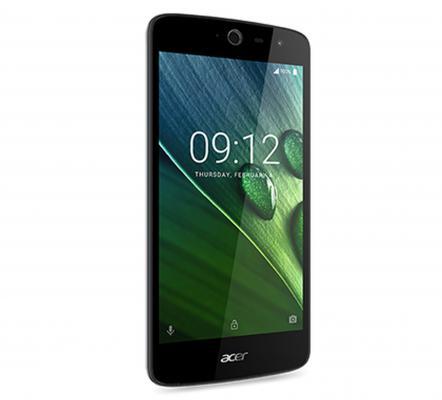 Смартфон Acer Liquid Zest Z528 синий 5 16 Гб LTE Wi-Fi GPS 3G 4G-T07 смартфон zte blade v8 золотистый 5 2 32 гб lte wi fi gps 3g bladev8gold