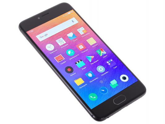 "Смартфон Meizu Pro 6 черный 5.2"" 32 Гб LTE Wi-Fi GPS M570H 32Gb Black"