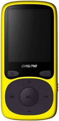 Плеер Digma B3 8Gb желтый digma