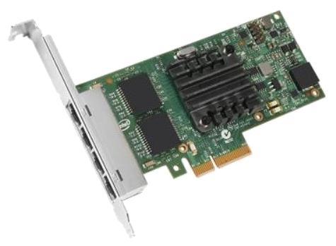 Адаптер Dell i350 QP Gigabit Ethernet 1Gb,Low Profile - KIT 540-BBDV