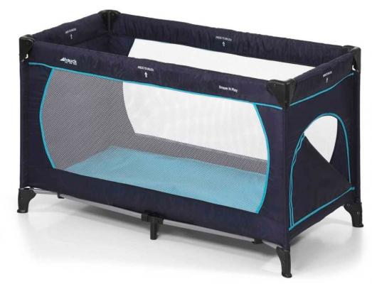 Манеж Hauck Dream'n 'Play Plus (navy aqua)