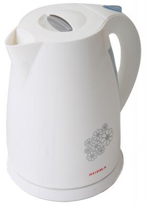 Чайник Supra KES-1705 2200 Вт белый 1.7 л пластик