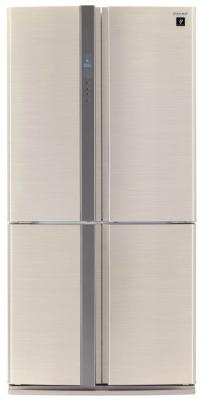 Холодильник Side by Side Sharp SJFP97VBE бежевый холодильник side by side samsung rs 552 nrua9m wt
