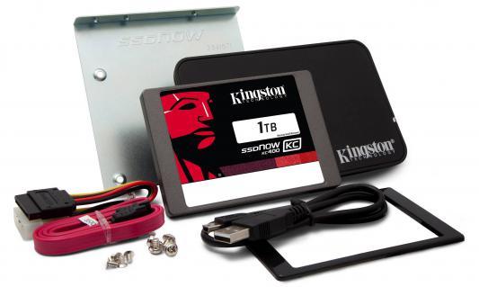 "SSD Твердотельный накопитель 2.5"" 1Tb Kingston SSDNow KC400 Read 550Mb/s Write 530Mb/s SATAIII SKC400S3B7A/1T"