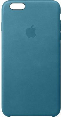 Накладка Apple Leather Case для iPhone 6S Plus iPhone 6 Plus синий MM362ZM/A