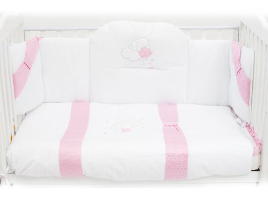 Постельный сет Italbaby Polvere Di Stell (розовый/100,0005-1) постельный сет italbaby teddy крем 100 0019 6
