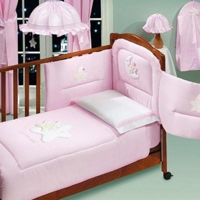Постельный сет Italbaby Petite Etoile (розовый/100.0066-1)