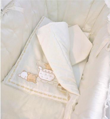 Постельный сет Italbaby Pasticcini (белый/100,9050-)