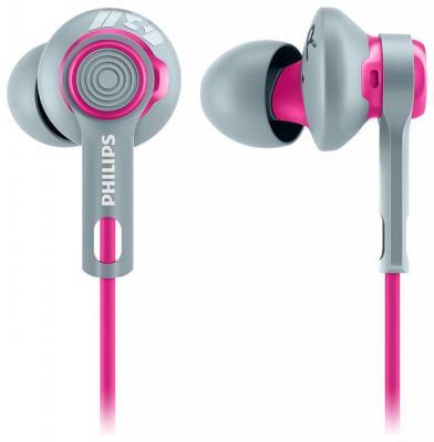 Наушники Philips SHQ2300PK/00 серо-розовый