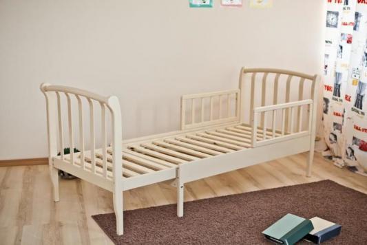Кроватка-трансформер Красная Звезда Савелий (белый)