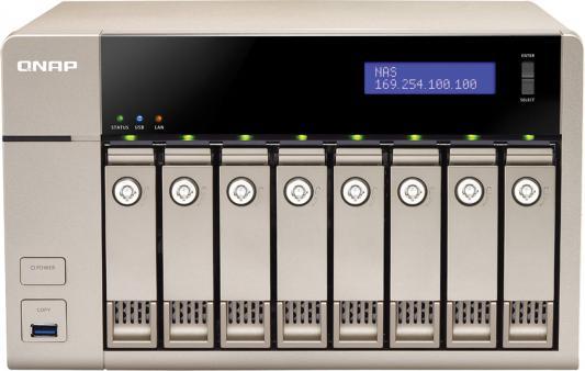 Сетевое хранилище QNAP TVS-863+-8G