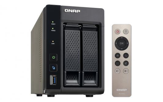 Сетевое хранилище QNAP TS-253A-8G 2 отсека для жестких дисков