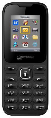 """Мобильный телефон Micromax X401 черный 1.77"""" 24 Мб"""