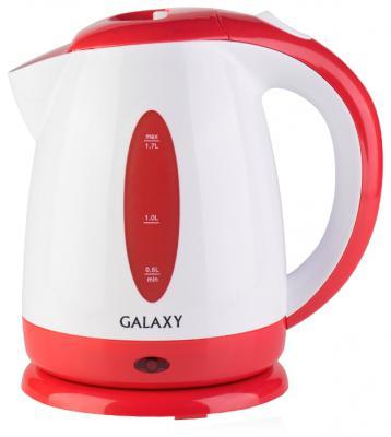 Чайник GALAXY GL0221 2200 Вт красный 1.7 л пластик