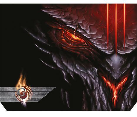 Коврик для мыши Dialog Gan-Kata PGK-07 diablo с рисунком дьявол