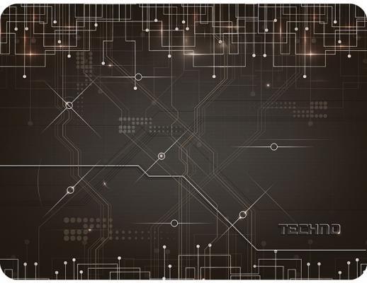 Коврик для мыши Dialog PM-H17 techno черный с рисунком