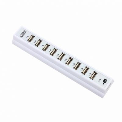 Концентратор USB CBR CH-310 10 портов белый