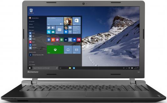 """Ноутбук Lenovo IdeaPad 100-15IBY 15.6"""" 1366x768 Intel Celeron-N2840 80MJ00MJRK"""