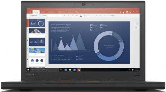 "Ультрабук Lenovo ThinkPad X260 12.5"" 1920x1080 Intel Core i7-6500U 20F60073RT"