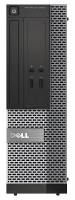 Системный блок DELL Optiplex 3020 SFF  i5-4590T 3.5GHz 4Gb 500Gb HD4400  Win7Pro Win10Pro 3020-0397