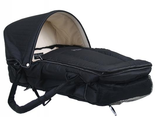 Люлька-переноска Valco baby Soft Bassinet (black)