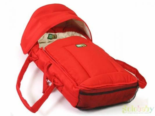 Люлька-переноска Valco baby Soft Bassinet (red)