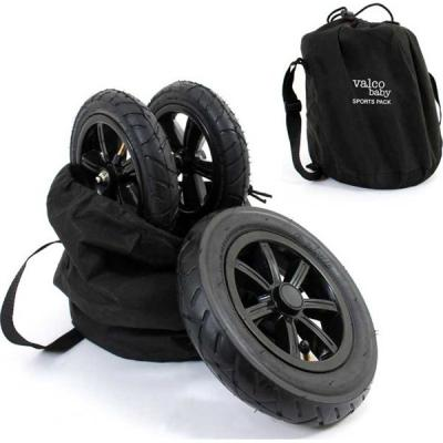 Комплект надувных колес Valco Baby Sport Pack для коляски Snap (black)