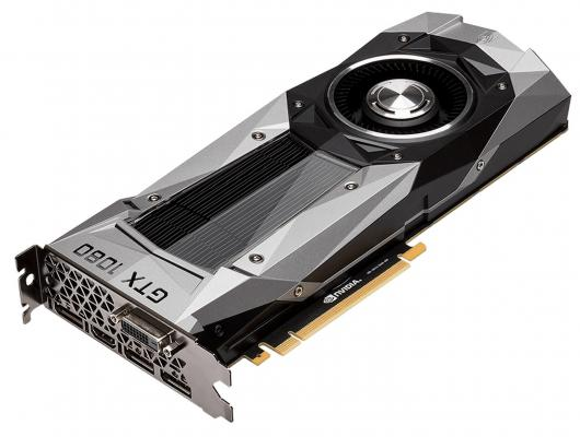 Видеокарта 8192Mb Gigabyte GeForce GTX1080 Founders Edition PCI-E 256bit GDDR5X DVI HDMI DP GV-N1080D5X-8GD-B Retail