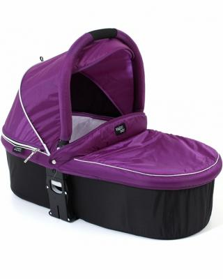 Люлька Valco baby Q Bassinet для колясок Trimod X/Snap 4 Ultra/Quad X (deep purple)