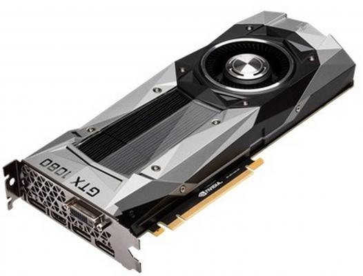 ���������� 8192Mb ASUS GeForce GTX1080 Founders Edition PCI-E 256bit GDDR5X DVI HDMI DP GTX1080-8G Retail