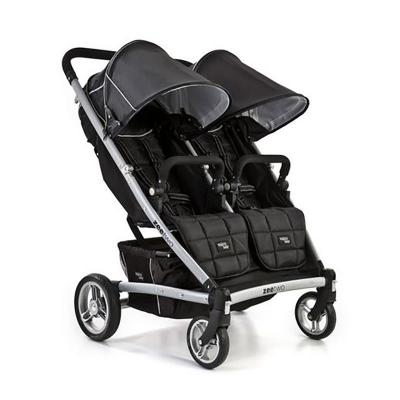 Прогулочная коляска для двоих детей Valco baby Zee Two (midnight black)