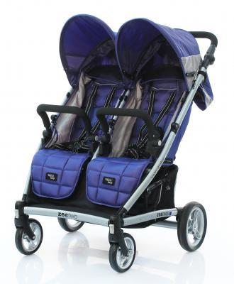 Прогулочная коляска для двоих детей Valco baby Zee Two (blue opal)