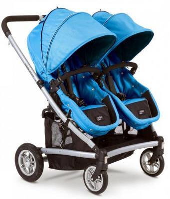 Коляска-трансформер для двоих детей Valco baby Zee Spark Duo (marine) (Valco Baby)
