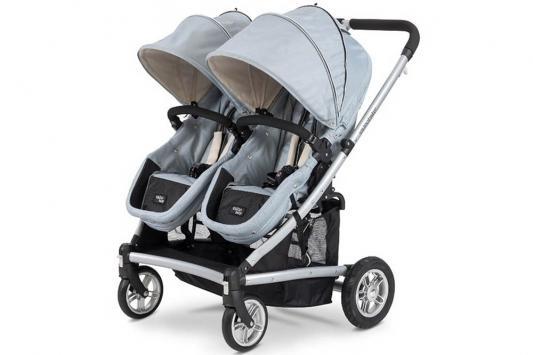 Коляска-трансформер для двоих детей Valco baby Zee Spark Duo (sterling)